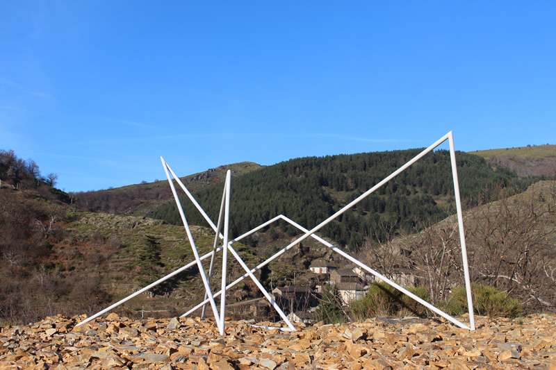 Chantal Atelin - Sentier de Sculptures d'Altier