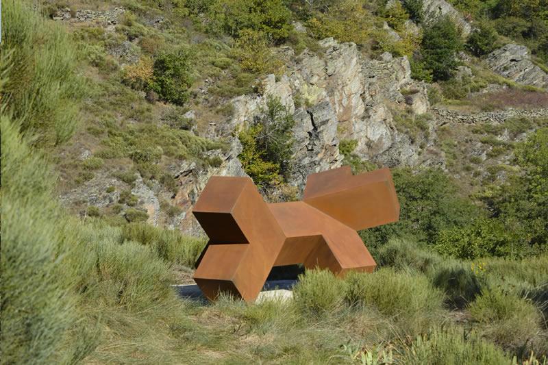 Pima - Noos - Sentier de Sculptures d'Altier