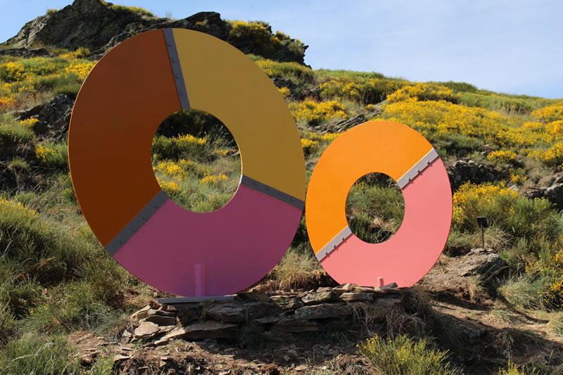 Jean-Philippe Baudry - Cosmogonie - Sentier de Sculptures d'Altier