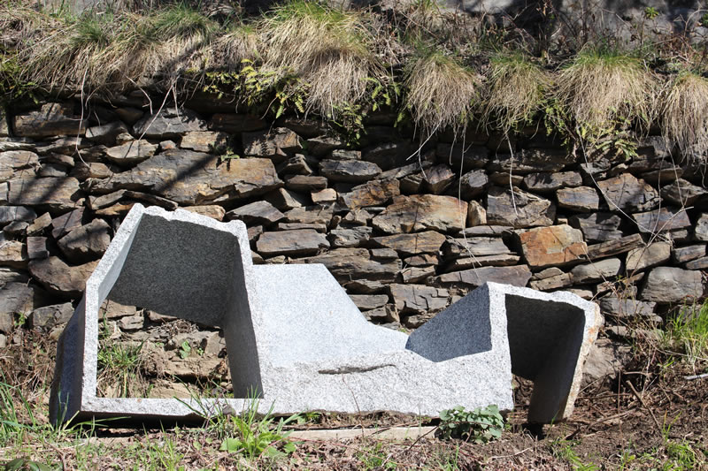 Attila Rath Geber - Chemin de Sculptures - Altier