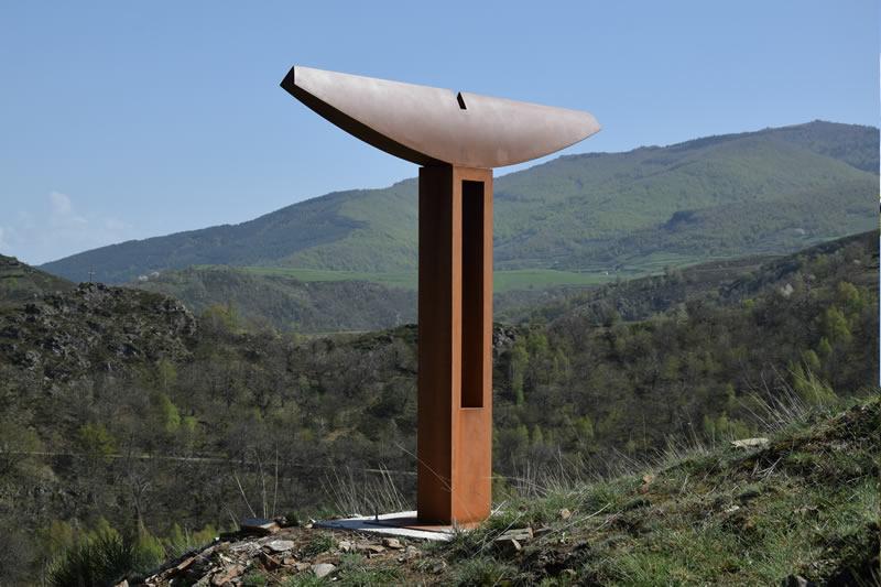Patrice Poutout - Thorax - Chemin de Sculptures d'Altier