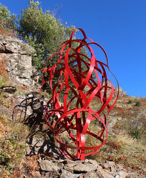 Stéphane Desmaris -Nodulus - Sculpture à Altier